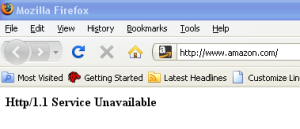 Amazon Down on 6.6.08